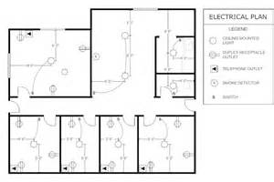 Electrical Floor Plans Office Electrical Plan Floor Plans Pinterest Offices