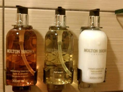 Bath Shower Walls luxury hotel says no to single sized shampoo bottles 187 my