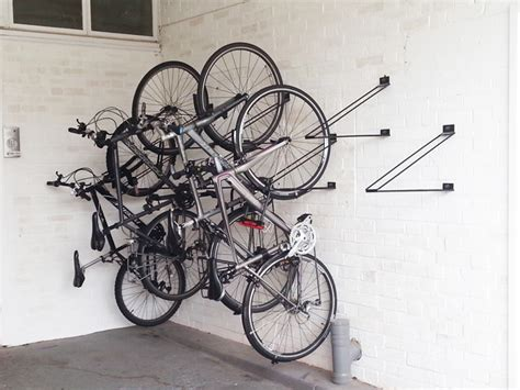 Hanger Organizer Rack by Vertical Bike Rack Cyclehoop