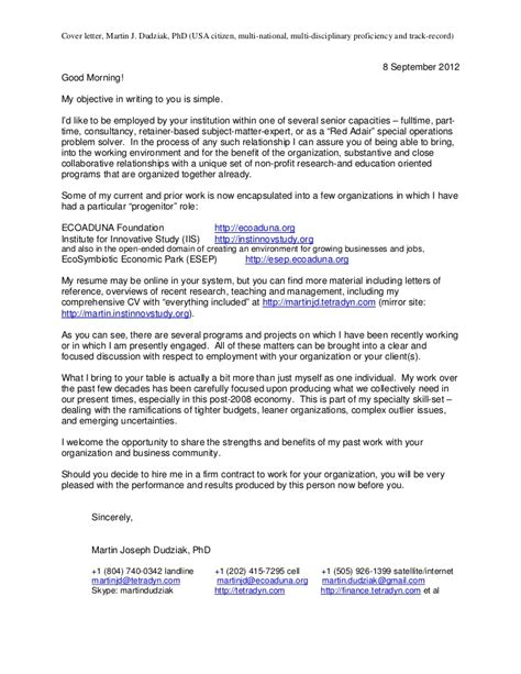 cover letter for ngo application letter sle cover letter sle for ngo