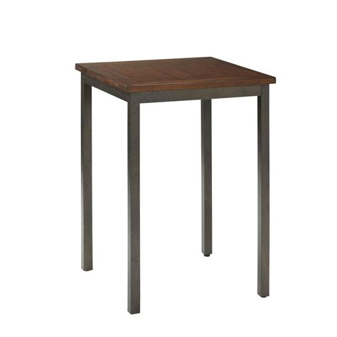 Home Depot Bistro Table by Home Decorators Collection 30 In Mango Wood Cafe