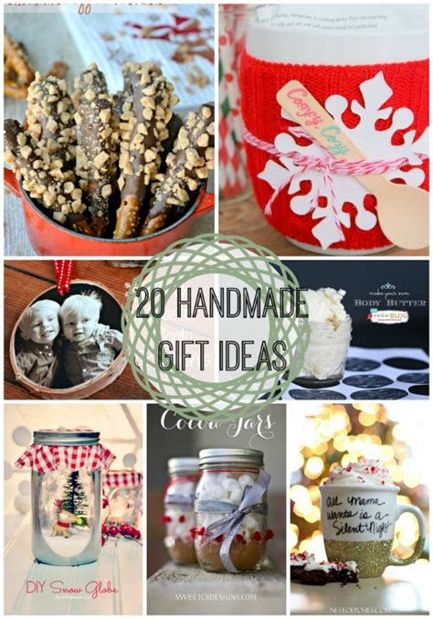 Last Minute Handmade Gifts - 20 last minute handmade gift ideas link features