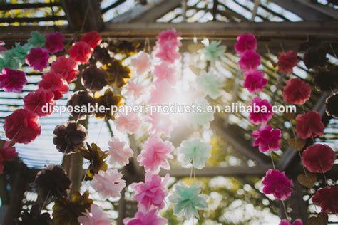yiwu factory wholesale handmade tissue paper flower