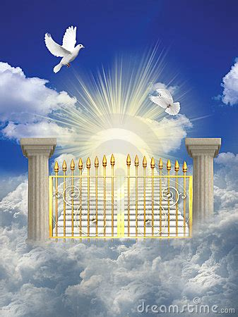 Heaven Royalty Free Stock Images - Image: 13547389 Gates Of Heaven Design