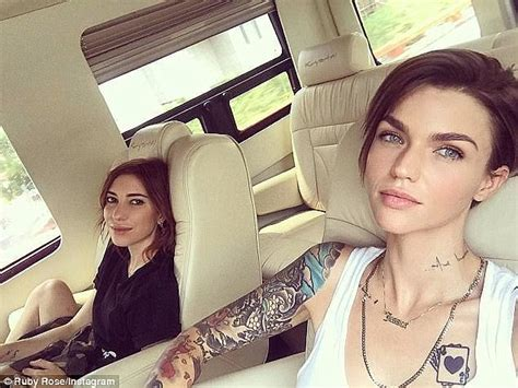 ruby rose deletes photos of girlfriend jessica origliasso