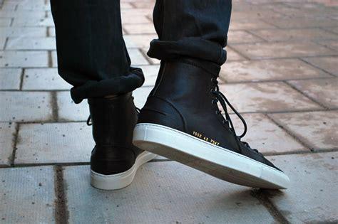 Project High Black comment bien porter une paire de sneakers lifestyle