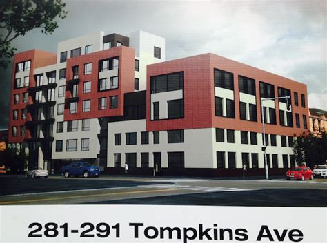 bed stuy blog 31 unit residential project revealed at 291 tompkins avenue in bed stuy new york yimby