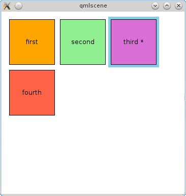 qml layout border model view in qml part the first representations on the