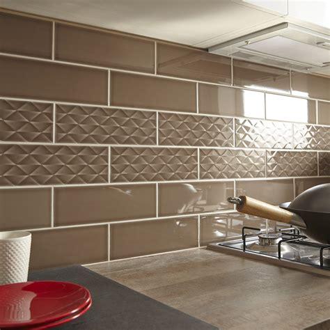 carrelage pour cr馘ence de cuisine fa 239 ence mur marron 28 images carrelage blanc