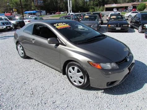 2006 honda civic lx coupe for sale used 2006 honda civic lx coupe for sale stock 1