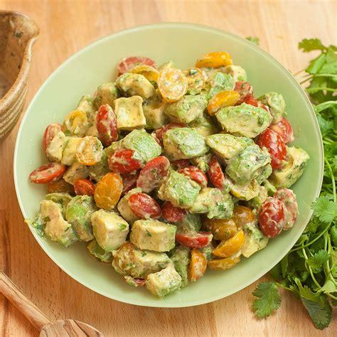 avocado dish recipes limey avocado salad recipe w grape tomatoes eat with tom