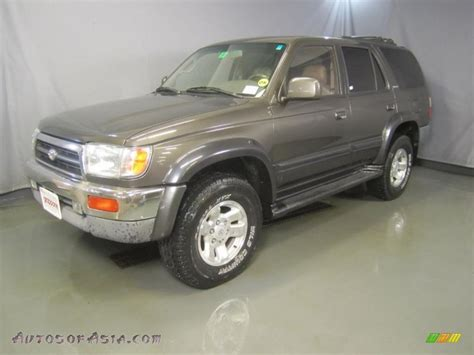 1998 Toyota 4runner Limited 1998 Toyota 4runner Limited 4x4 In Anthracite Metallic