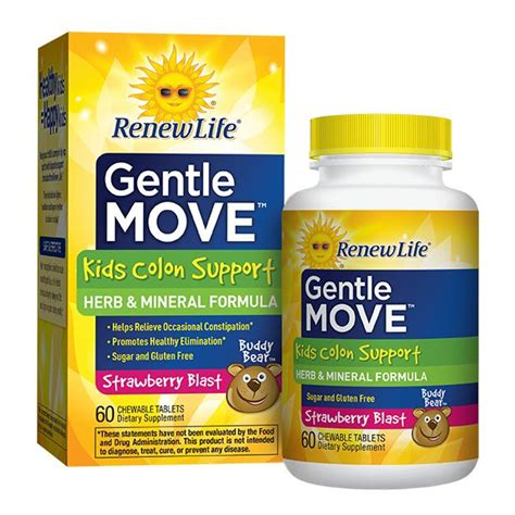 Best Way To Detox Children by Gentle Move Colon Support By Renew Freshest