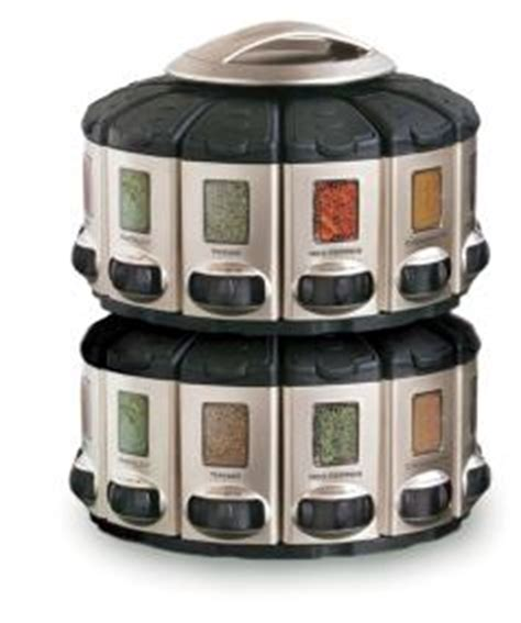 Auto Measure Spice Rack by Kitchen 57010 Select A Spice Auto Measure Carousel Professional Series Satin