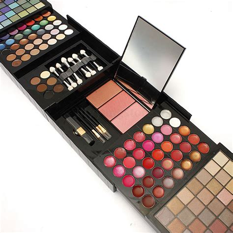 Eyeshadow Kit pro 177 color makeup cosmetic eyeshadow blush palette set big kit ebay