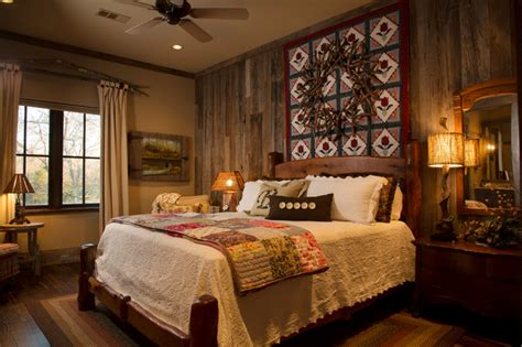 lodge bedroom decor rustic lodge style home rustic bedroom houston by collaborative design group architects