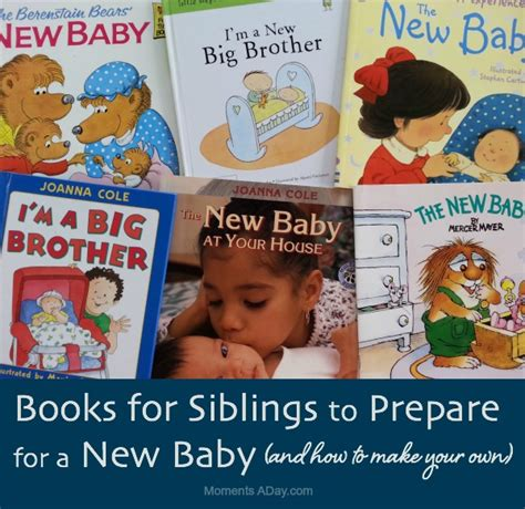 books to prepare siblings for a new baby moments a day