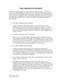 Writing An Essay Thesis by Papers Term Thesis Writer