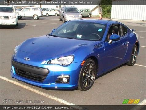 black subaru brz interior wr blue pearl 2013 subaru brz limited black leather