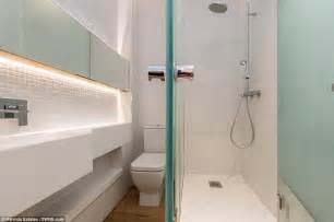 Tiny Half Bathroom tiny apartment is less than nine feet wide but costs a