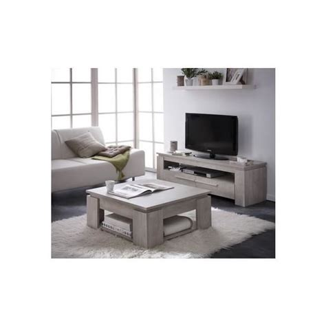 Ensemble Table Basse Meuble Tv Pas Cher by Ensemble Table Basse Meuble Tv Segur 140cm Achat