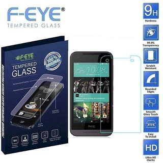 Clear Screen Guard Htc Desire Eye Anti Gores Bening Depan Layar Lcd Hp f eye anti scratch tempered glass screen protector for htc desire 520