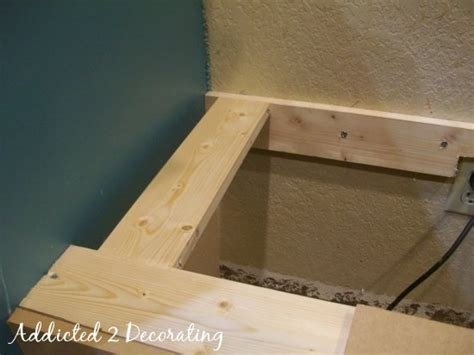 diy banquette seating with storage build a banquette seat with storage diy pinterest