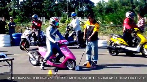 balap motor drag motor matic modifikasi drag foto modifikasi motor drag scoopy terkeren dan terbaru