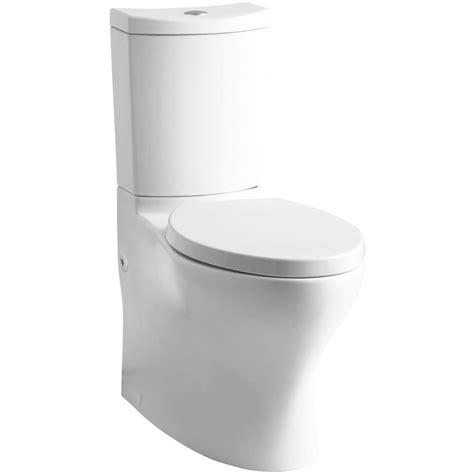 lowes bathroom commodes shop kohler persuade white 1 6 gpf 12 rough in watersense