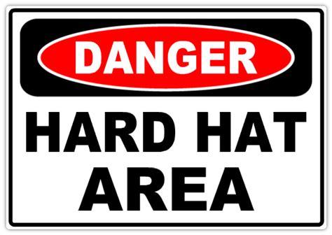 danger hard hat area 101 danger safety sign templates