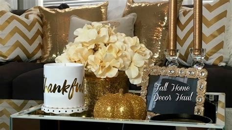 home decor goods fall home decor haul homegoods tjmaxx zgallerie target