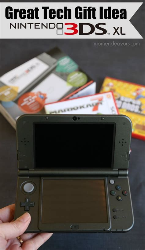Nintendo 3ds Giveaway - great tech gift idea new nintendo 3ds xl 100 gift card giveaway