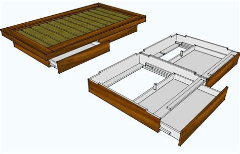 how to make a platform bed frame how to make a platform bed quick woodworking projects
