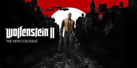 wolfenstein ii the new 0744018307 wolfenstein ii the new colossus nintendo switch juegos nintendo