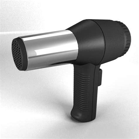 Hair Dryer German 3d hair dryer model