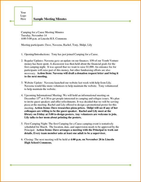 sle meeting minutes template authorization letter pdf