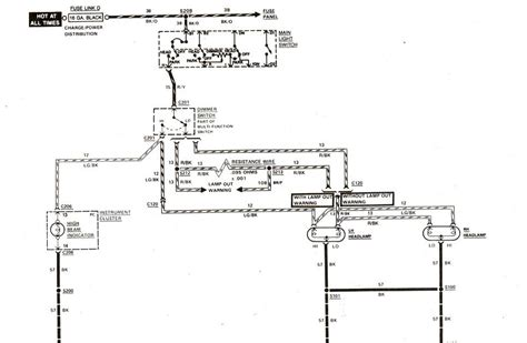 free auto wiring diagram 1983 1989 ford ranger headlight