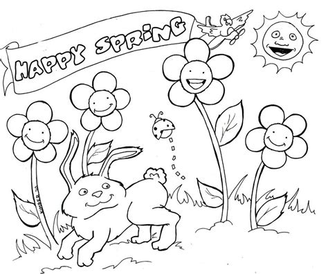 spring coloring pages printable ideas spring coloring pages only coloring pages