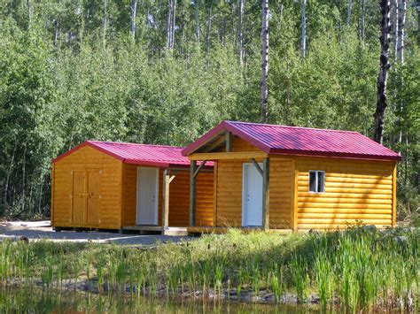 Storage Shed Cabin by Cabins Northern Storage Sheds Fort St