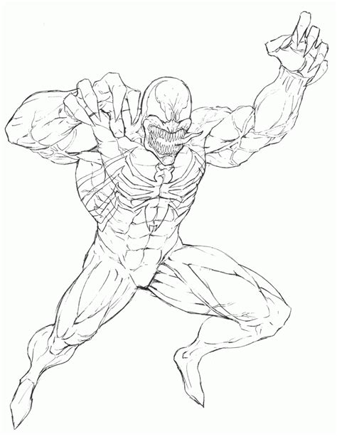 venom online coloring pages printable venom coloring pages coloring home