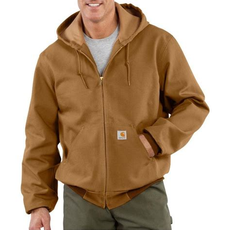 carhartt coat carhartt thermal lined duck active jackets j131