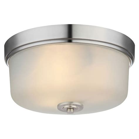 satin nickel light fixtures flush mount ceiling light fixture 20 9229 satin nickel
