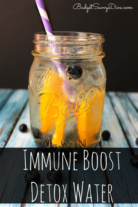 Feeling Cold While Detoxing by Immune Boost Detox Water Recipe Budget Savvy
