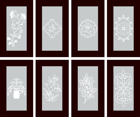 Made To Order Kitchen Cabinets by Vinyl Cabinet Designs For Frosted Glass Inserts