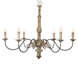 Rustic Country Chandelier Avignon Country Rustic Gold Iron Scroll Chandelier