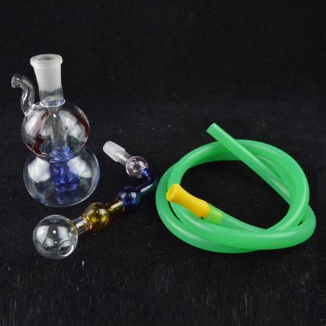 colorful bongs best new glass water bong 3 5 inch colorful downstem gourd