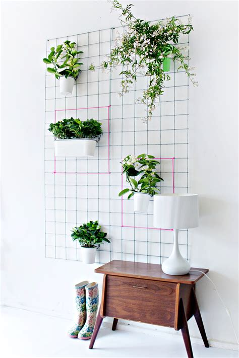 Planter Wall by Green Diy Wall Planter