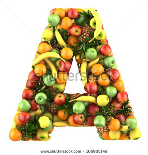 fruit 7 letters fruit letters stock photos images pictures