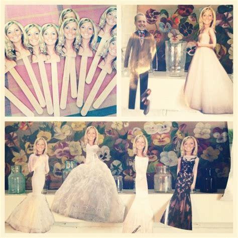 Wedding shower game! Dress the Bride paper dolls! Best