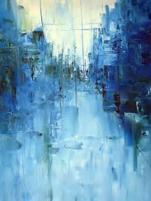Yellow Wall Art Decor Best 25 Blue Abstract Painting Ideas On Pinterest Blue